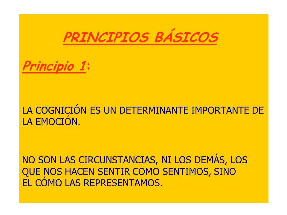 Principio 2: LOS ESQUEMAS DISFUNCIONALES DE PENSAMIENTO SON LOS DETERMINANTES DE NUESTRO ESTRÉS................