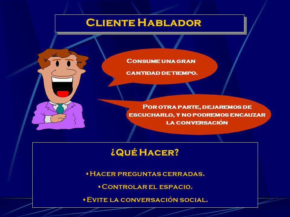 TIPOS BÁSICOS DE CLIENTES DIFÍCILES Cliente Hablador Cliente Exigente Cliente enojado Manejo de Reclamos y de Clientes Difíciles. Llamamos un cliente