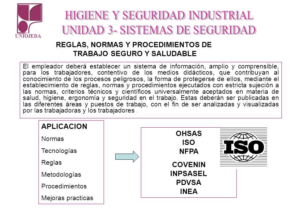 UNIOJEDA El empleador deberá establecer un sistema de información, amplio y comprensible, para los trabajadores, contentivo de los medios didácticos,