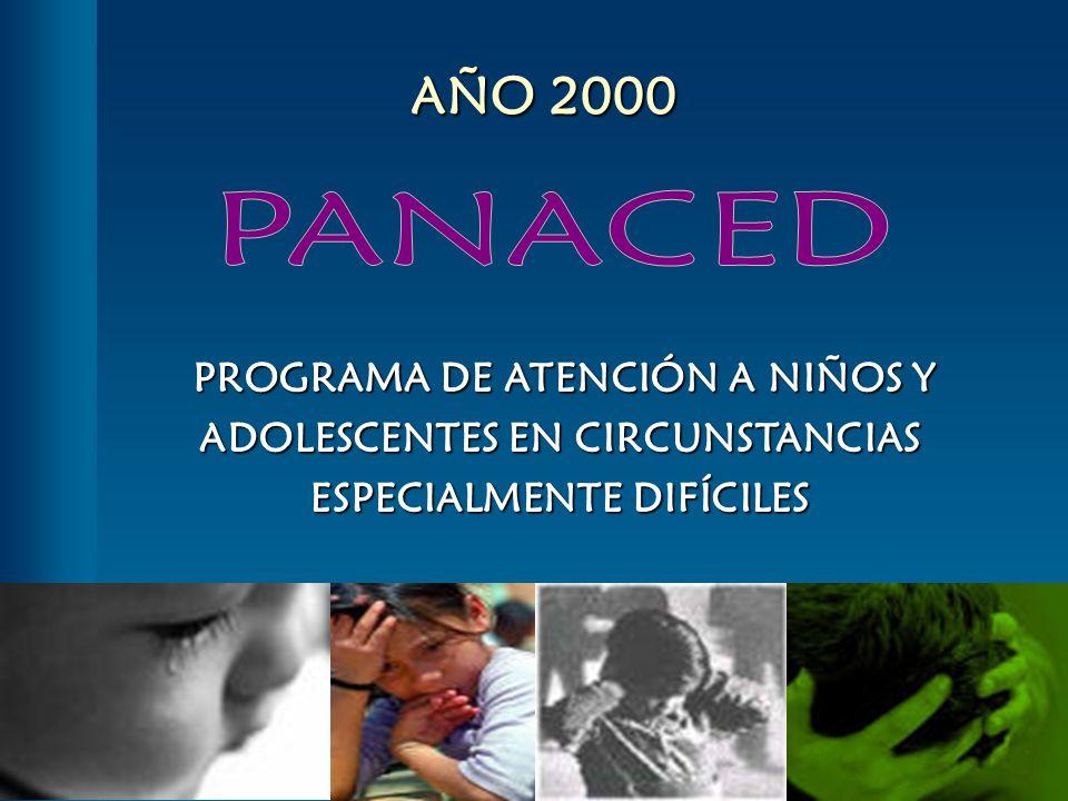 PROGRAMA DE ATENCIÓN A NIÑOS Y ADOLESCENTES EN CIRCUNSTANCIAS ESPECIALMENTE DIFÍCILES PROGRAMA DE ATENCIÓN A NIÑOS Y ADOLESCENTES EN CIRCUNSTANCIAS ES