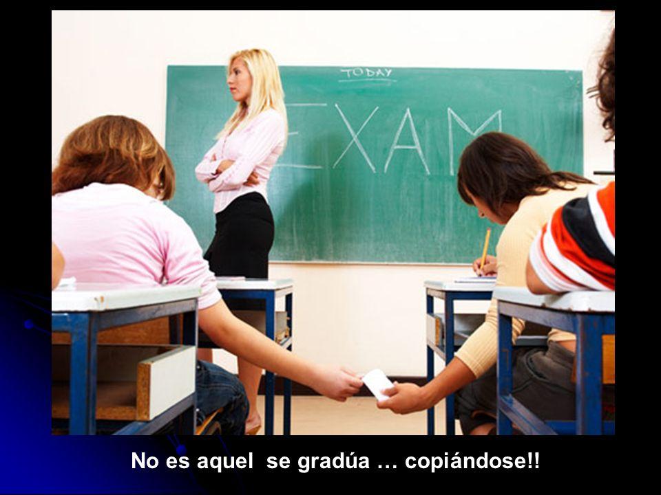 No será aquel estudiante que no se alegraba cuando el examen era a código abierto….