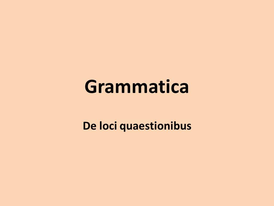 QVO - Acusativo: sin preposición con los nombres propios de lugar menor y los sustantivos domus y rus; con las preposiciones in, ad en los demás casos.Acusativo La preposición ad expresa movimiento hacia las proximidades de un lugar, in hacia el interior.