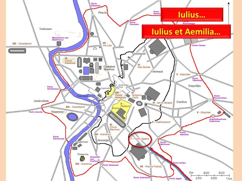 Iulius… Iulius et Aemilia…