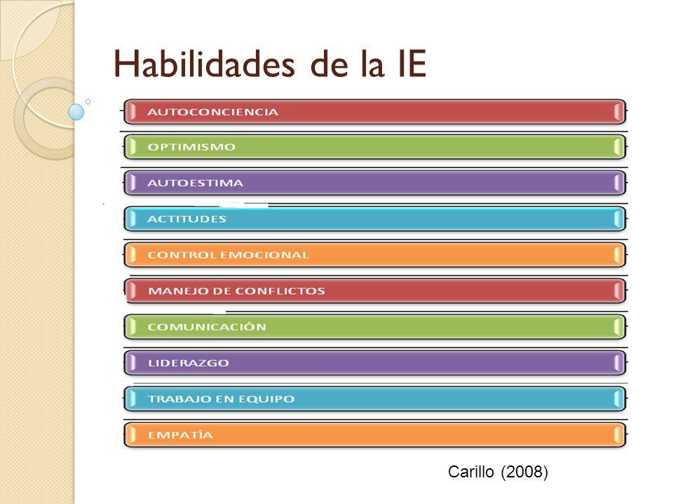 Habilidades de la IE Carillo (2008)