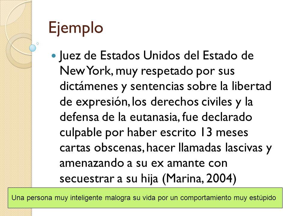 Ejemplo Juez de Estados Unidos del Estado de New York, muy respetado por sus dictámenes y sentencias sobre la libertad de expresión, los derechos civi