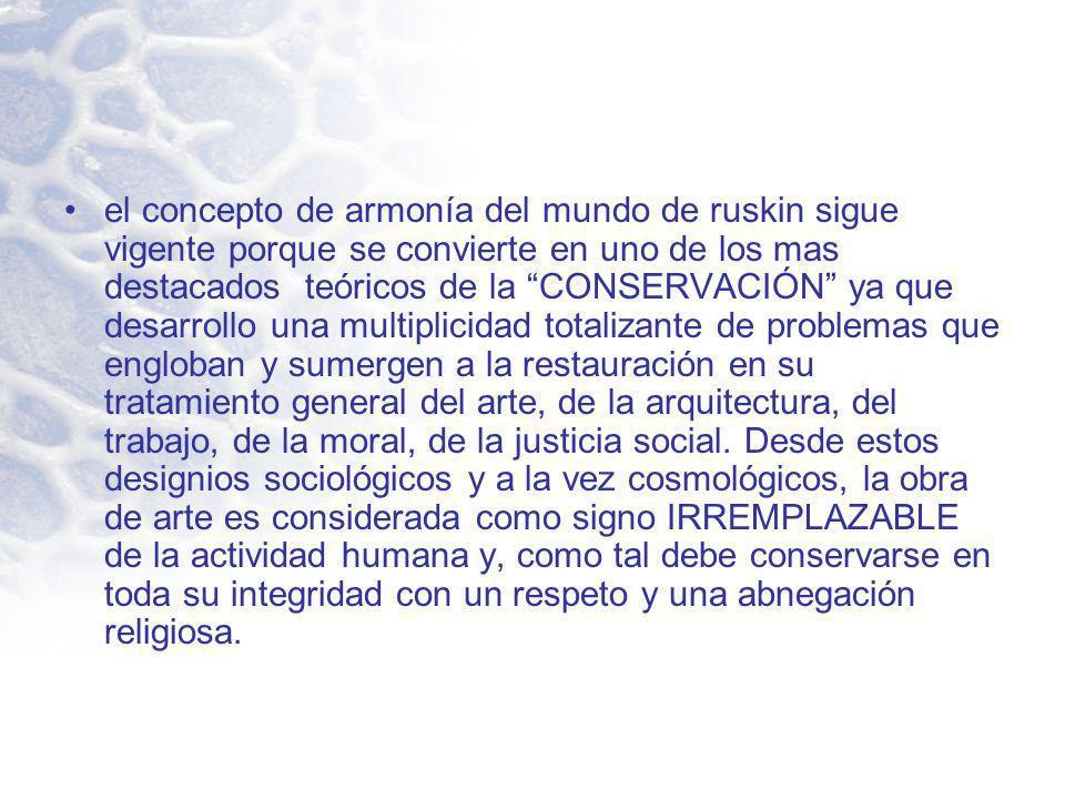 En Arequipa la conservación es la teoría que esta siendo utilizada por los encargados de centro histórico de arequipa.