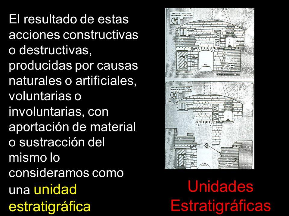 El resultado de estas acciones constructivas o destructivas, producidas por causas naturales o artificiales, voluntarias o involuntarias, con aportaci