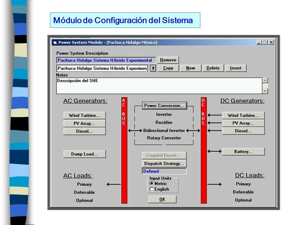 Módulo de Configuración del Sistema