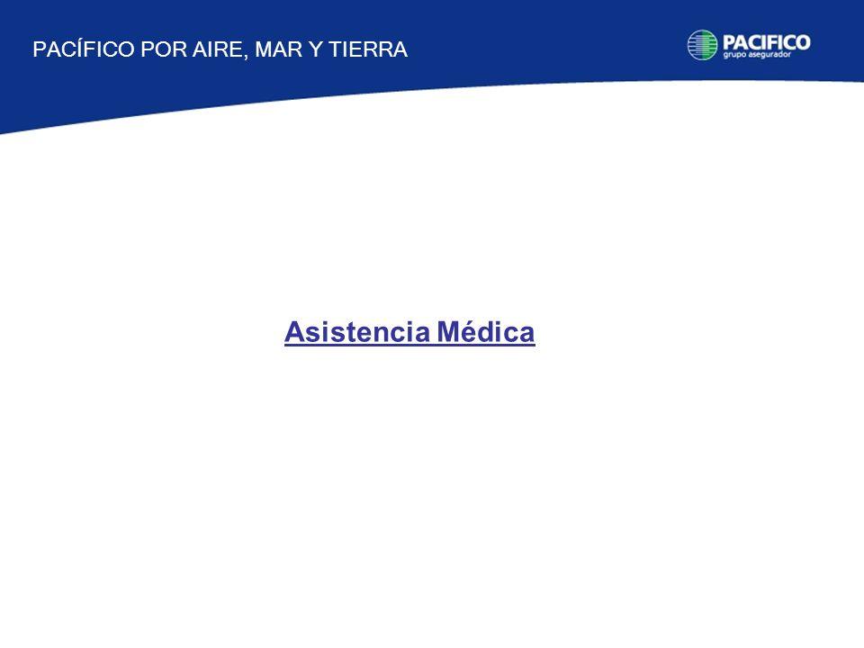 Asistencia Médica PACÍFICO POR AIRE, MAR Y TIERRA