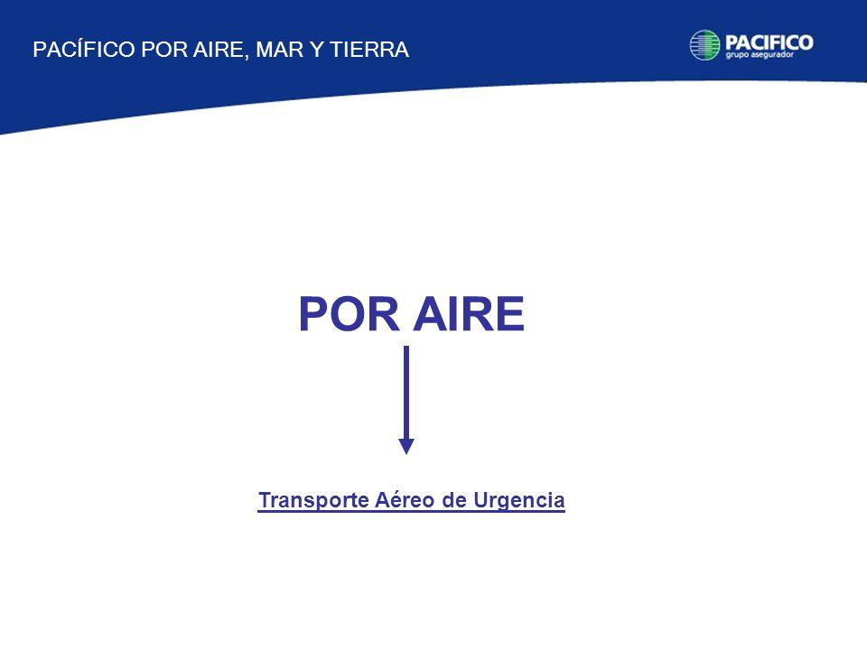 POR AIRE Transporte Aéreo de Urgencia