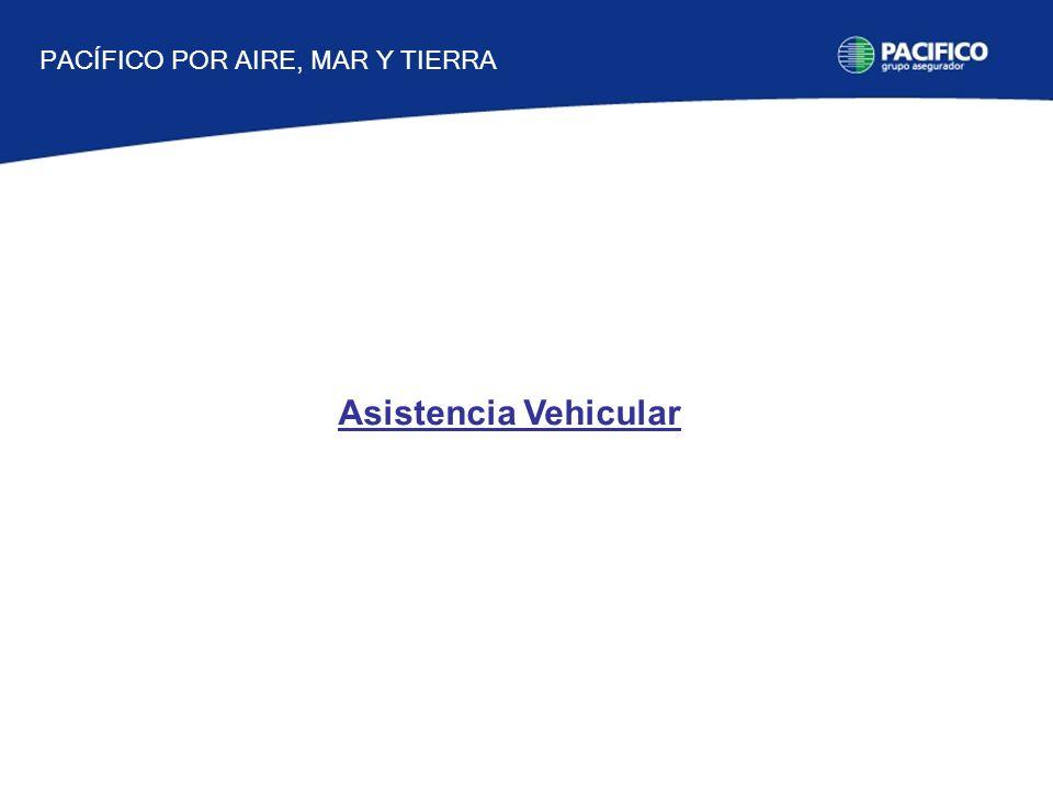 Asistencia Vehicular PACÍFICO POR AIRE, MAR Y TIERRA