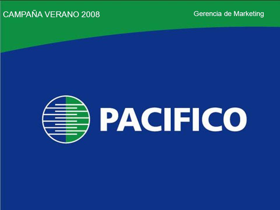 CAMPAÑA VERANO 2008 Gerencia de Marketing CAMPAÑA VERANO 2008 Gerencia de Marketing