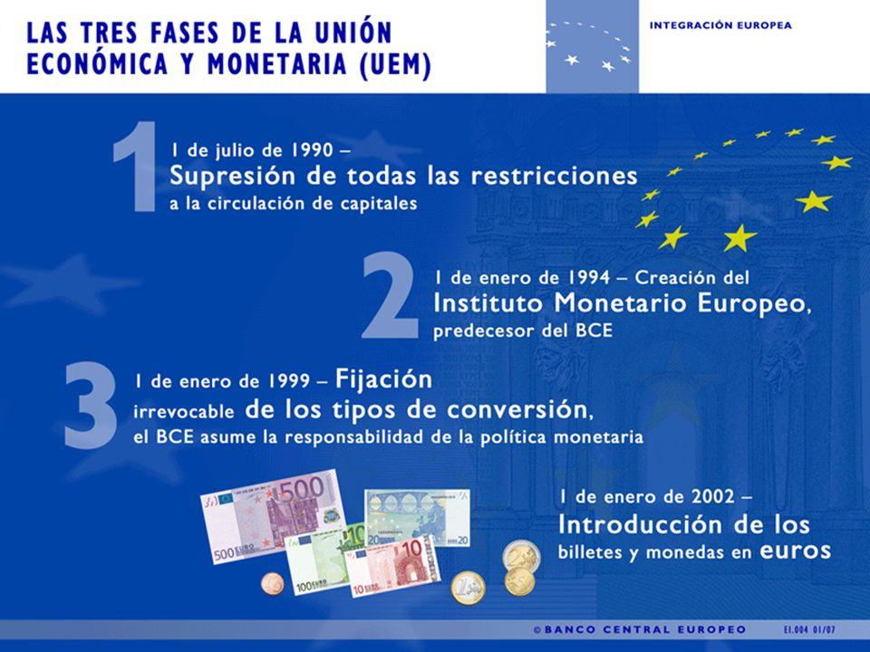 Fases de la unión monetaria 1ra.