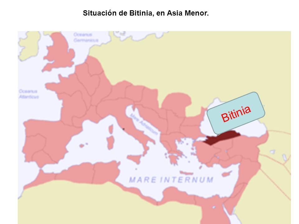 Situación de Bitinia, en Asia Menor. Bitinia