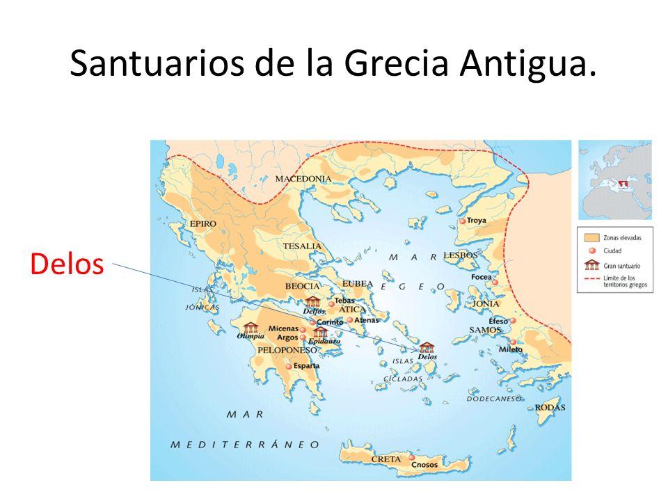 Santuarios de la Grecia Antigua. Delos