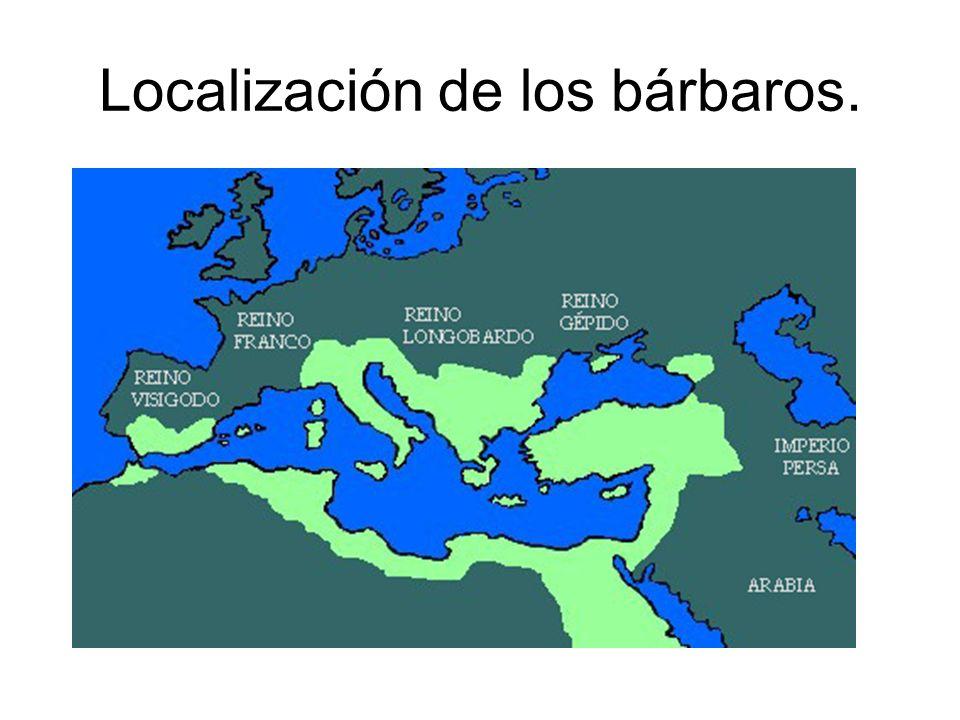 Localización de los bárbaros.