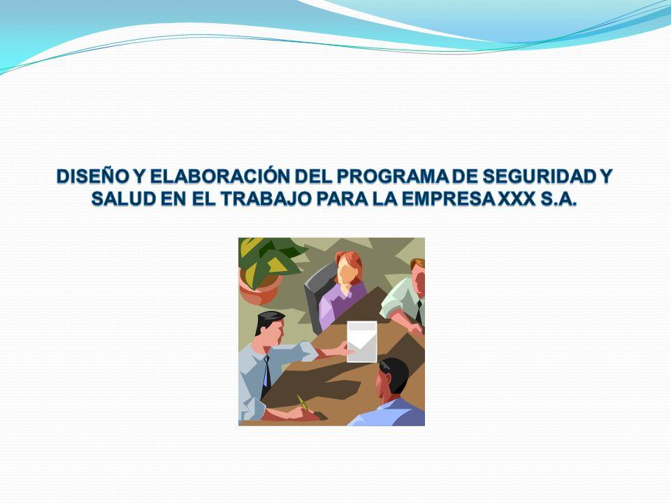 PRESENTAR LOS PLANES DE TRABAJO PARA ABORDAR RIESGOS Y PROCESOS PELIGROSOS EXISTENTES, EN EL PROCESO DE TRABAJO DE LAS LABORES DE PRODUCCIÓN DE LA EMPRESA XXXX S.A.