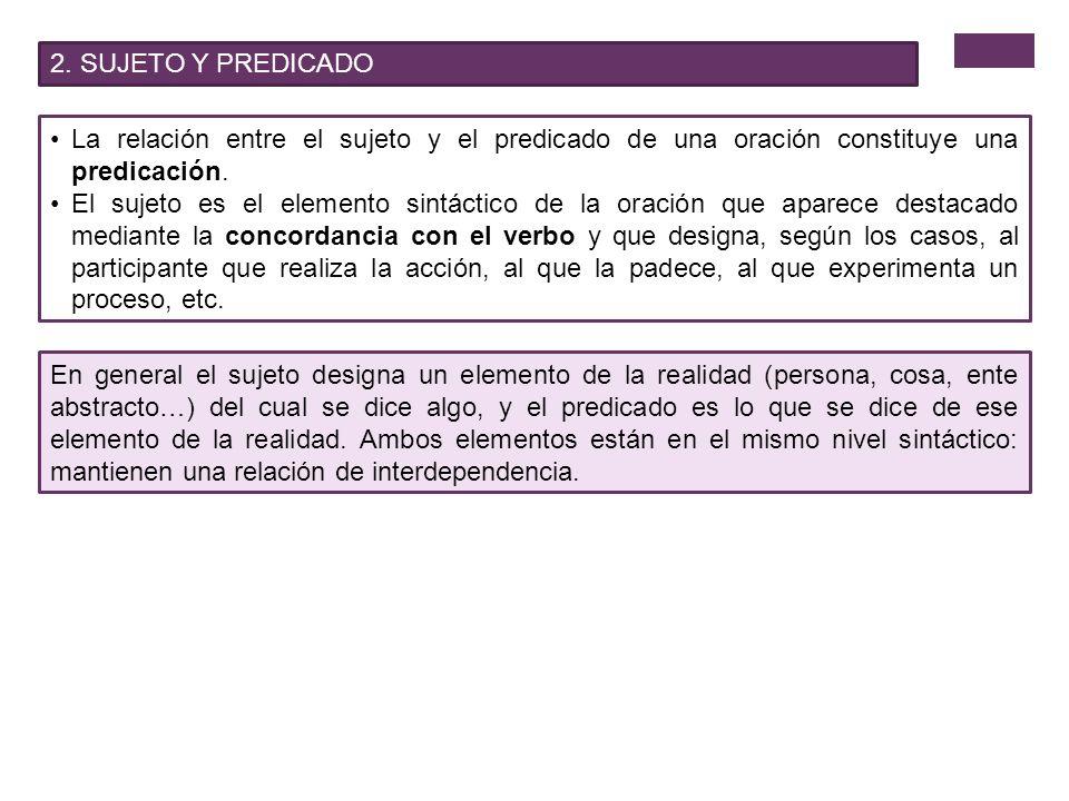 4.MODALIDADES ORACIONALES 4.3.