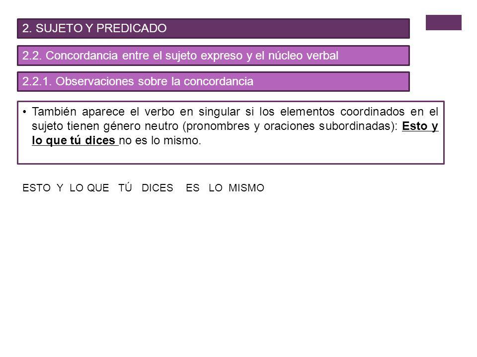 4.MODALIDADES ORACIONALES 4.2.