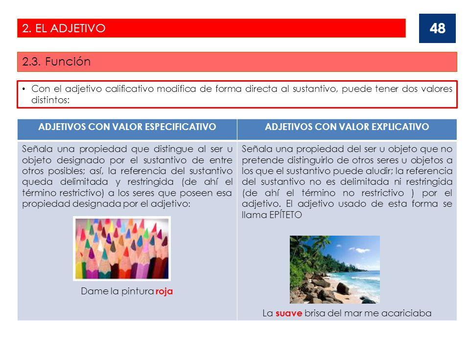 2.EL ADJETIVO 2.4.