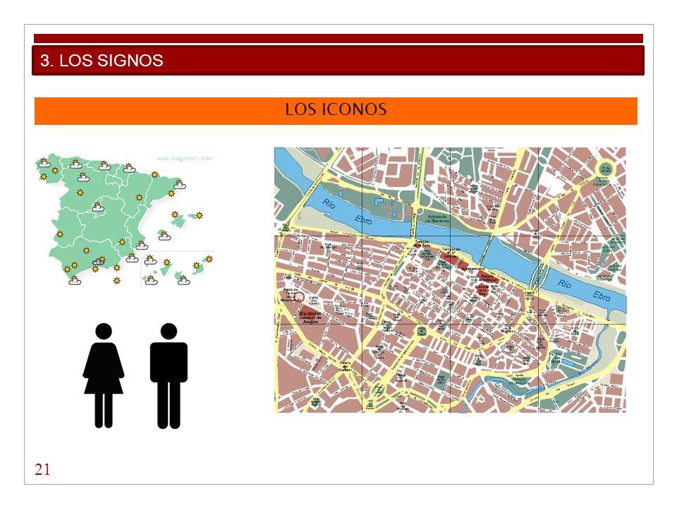 LOS ICONOS 21 3. LOS SIGNOS
