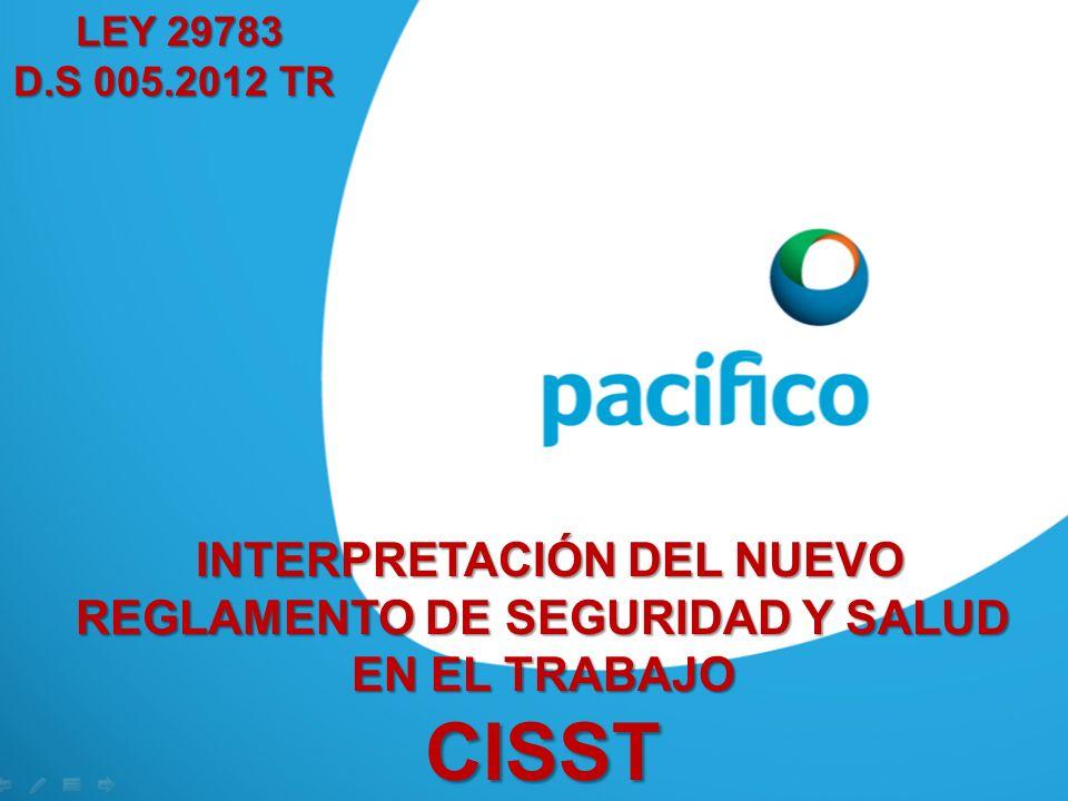 Funciones del Comité de SST D.S. N° 005-2012-TR, Art. 42°