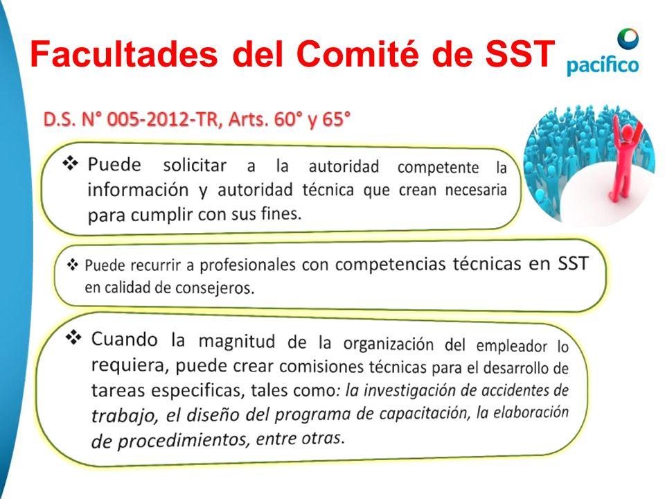 Facultades del Comité de SST
