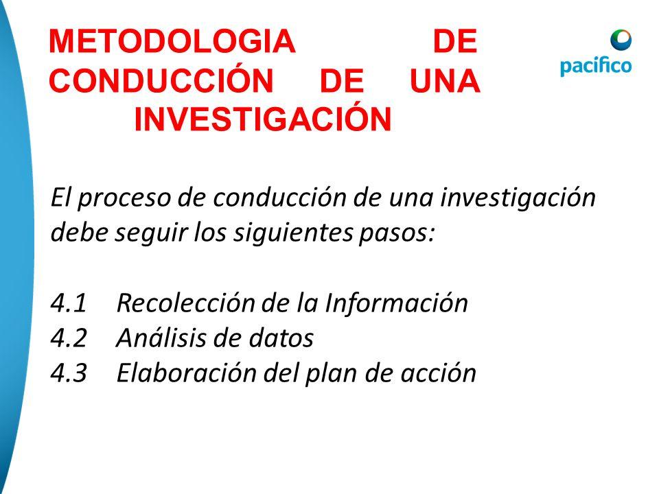 ¿ D ó nde investigar? Todas las investigaciones deberían ser hechas donde el accidente ocurrió. En la escena están las herramientas, materiales, maqui