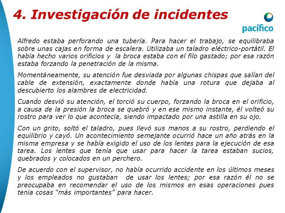 4.2Análisis de Datos: 4. Investigación de incidentes Taller