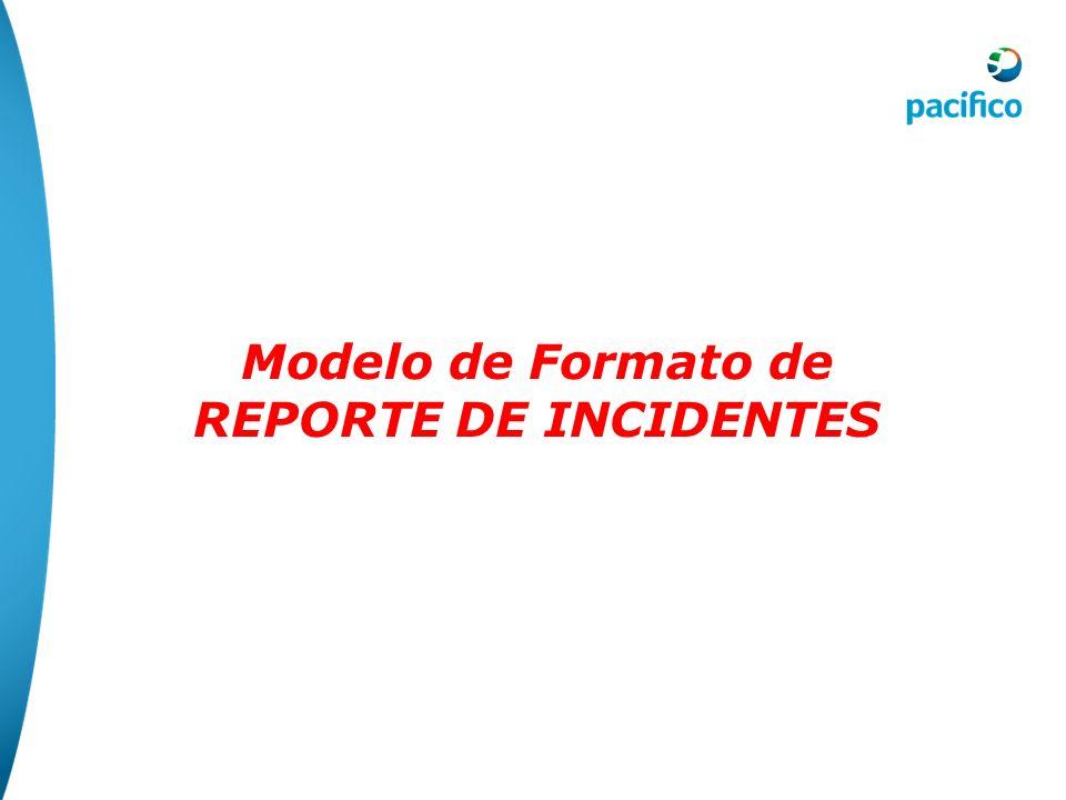 8.- Reporte de Incidentes Las metodologías propuestas para reportar los incidentes son propuestas por cada organización teniendo como objetivo proporc