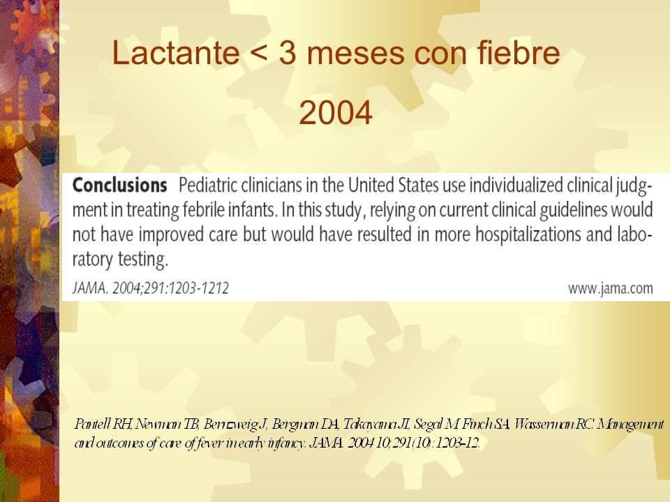 Lactante < 3 meses con fiebre 2004