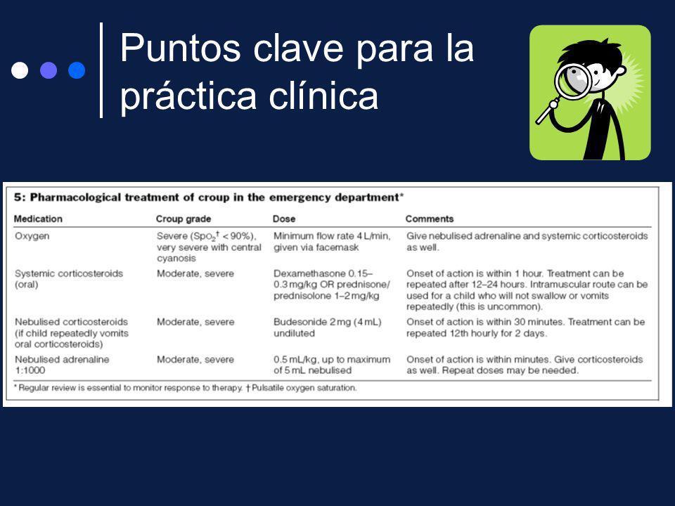 Puntos clave para la práctica clínica
