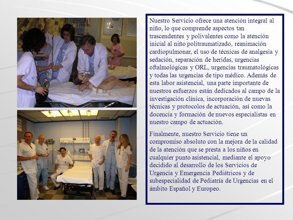El papel de los MIR en Urgencias de Pediatría es relativamente controvertido, siendo una fase de su desarrollo profesional en la que deben conjuntar la necesidad de una formación continuada adecuada y la práctica asistencial diaria.