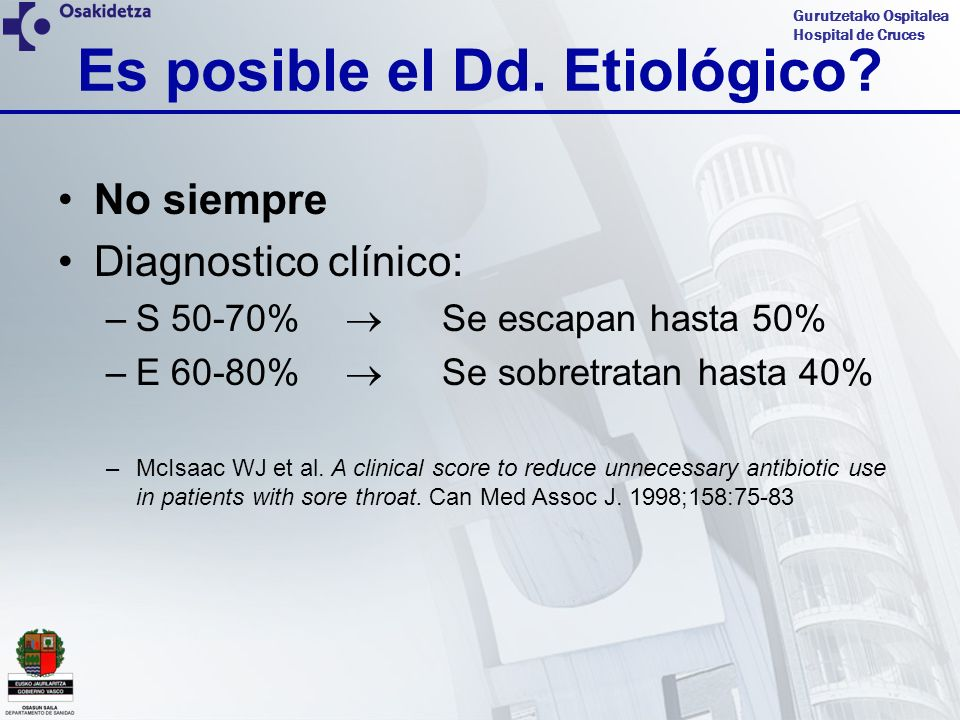 Gurutzetako Ospitalea Hospital de Cruces CASO CLINICO 3 Cuadro clínico: 6 años de edad, mes de enero, fiebre de 38.5ºC de 24 horas.