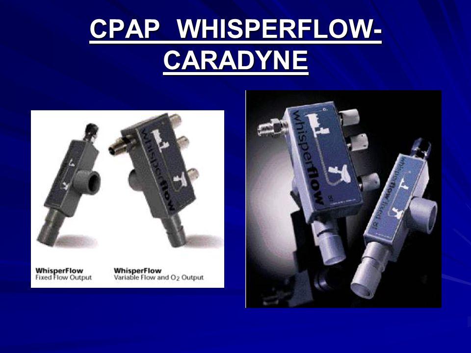 CPAP WHISPERFLOW- CARADYNE