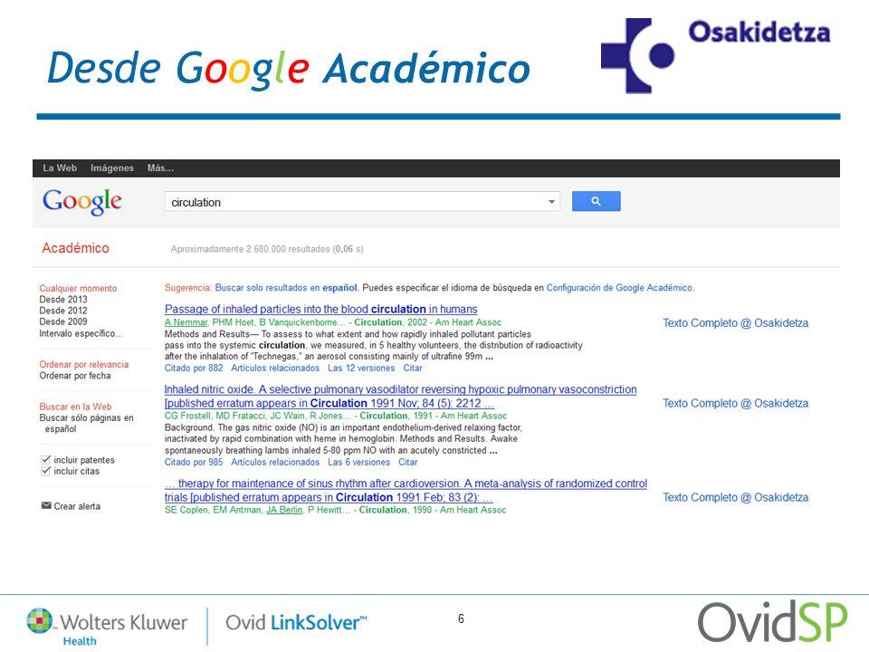 7 Desde UpToDate: La cuenta UpToDate de Osakidetza también tiene implementado un nuevo acceso al Texto Completo y la consulta de los fondos de Osakidetza a través de la opción de Referencias de cada registro de UpToDate