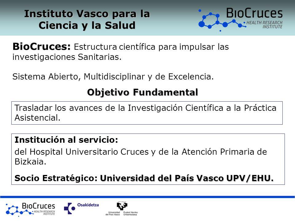 Objetivo Fundamental Trasladar los avances de la Investigación Científica a la Práctica Asistencial. Institución al servicio: del Hospital Universitar
