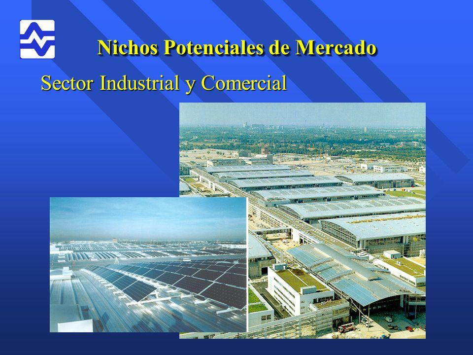 Nichos Potenciales de Mercado Sector Industrial y Comercial