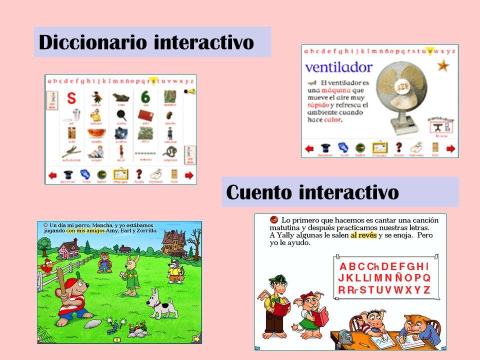 Diccionario interactivo Cuento interactivo
