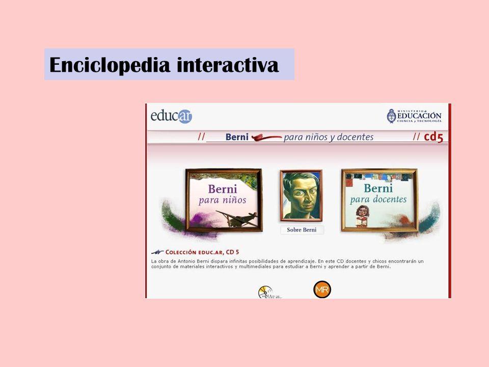 Enciclopedia interactiva