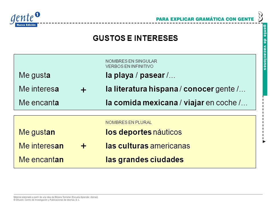 GUSTOS E INTERESES: GRADOS muchísimo.mucho.