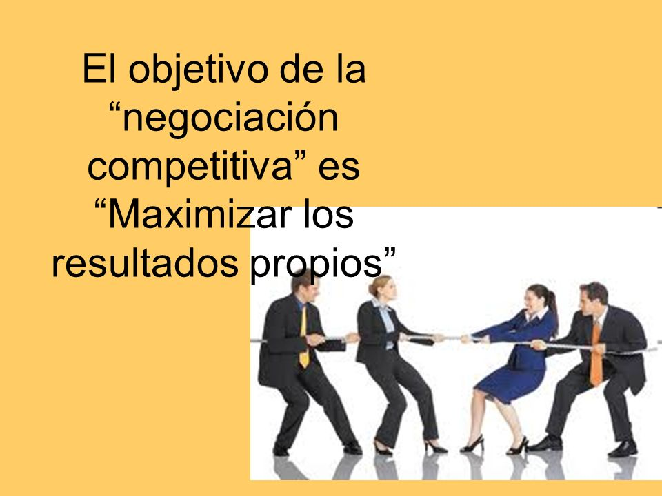 Cristina y Noelia RET 2010 Características principales son: Los objetivos de cada parte están enfrentados.