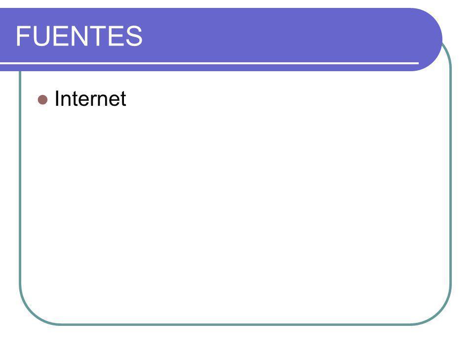 FUENTES Internet