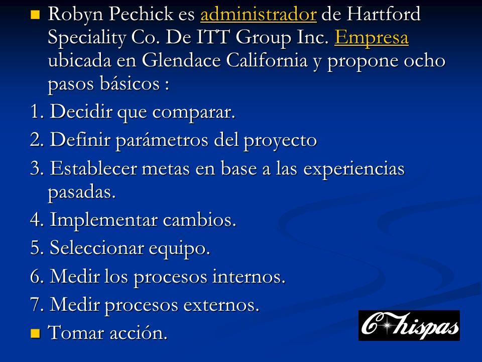 Robyn Pechick es administrador de Hartford Speciality Co.