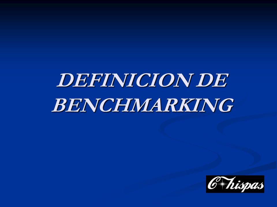 DEFINICION DE BENCHMARKING