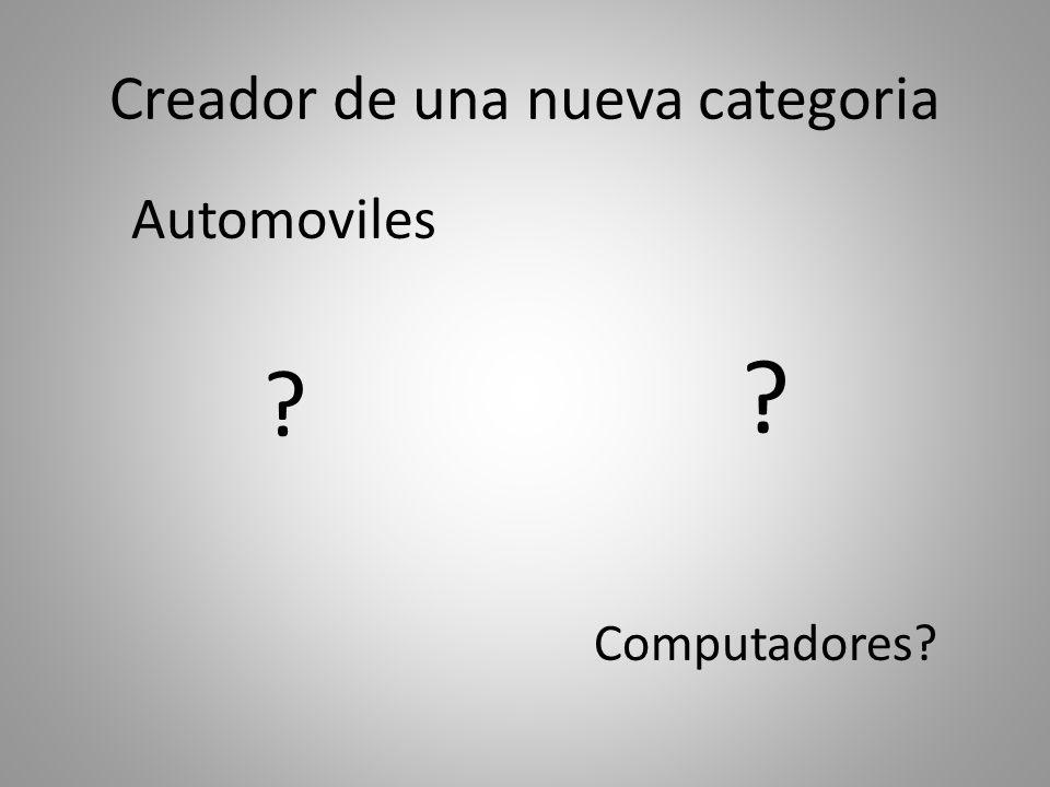 Creador de una nueva categoria Automoviles ? Computadores?