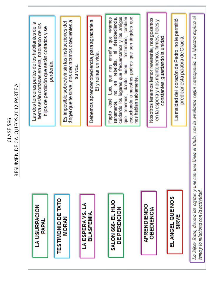 CLASE 586 RESUMEN DE CALQUEOS 2012 PARTE A