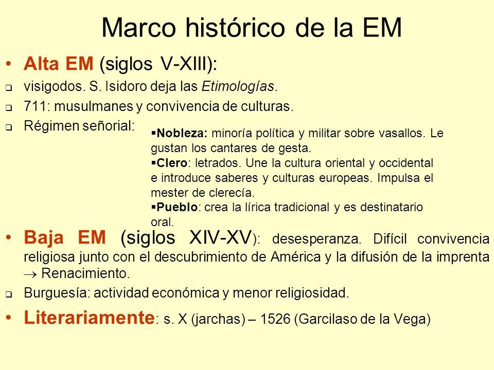Características literarias Teocentrismo y religiosidad.