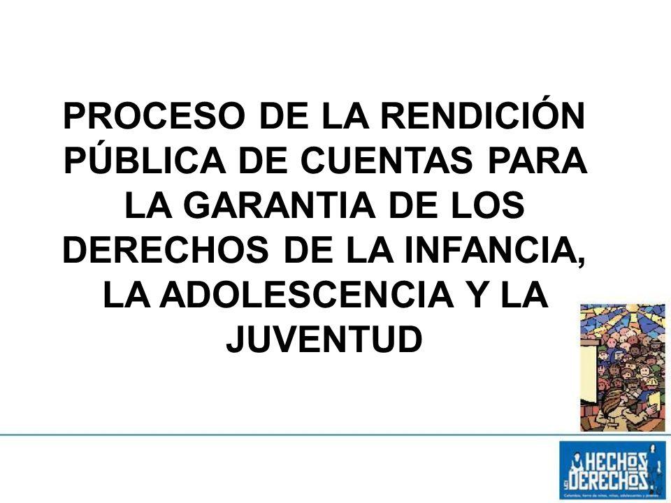 Capacitar a la ciudadanía y a los niñ@s, adolescentes y jóvenes para participar y dialogar en el proceso de rendición pública de cuentas 29 de Enero de 201422 4.