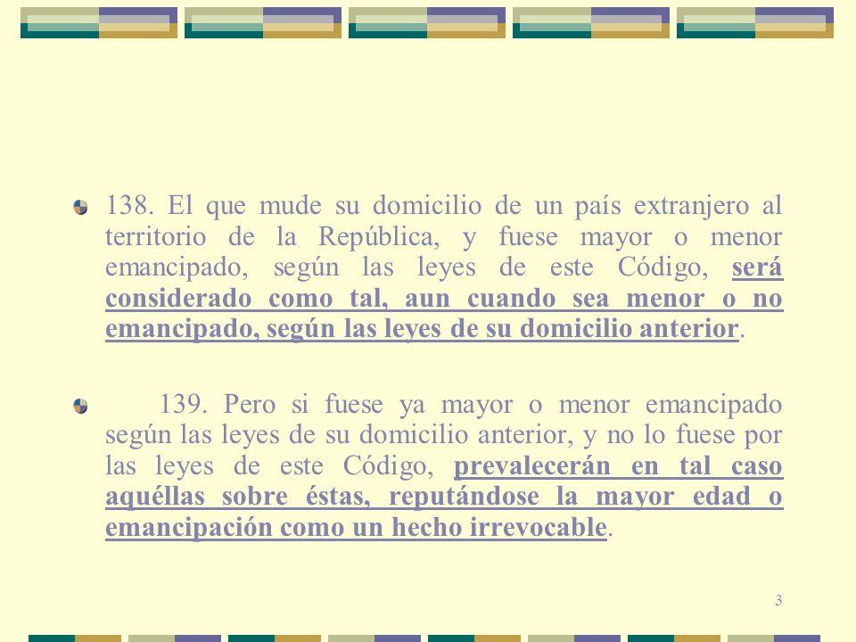 54 Ej Italia, Alemania, México, Venezuela Normas Imperativas de aplicación inmediata, también llamadas normas de policía.